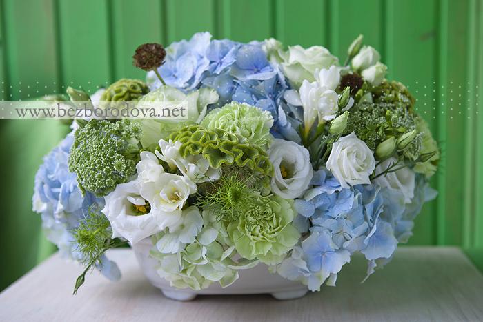Свадебные цветы на свадебный стол