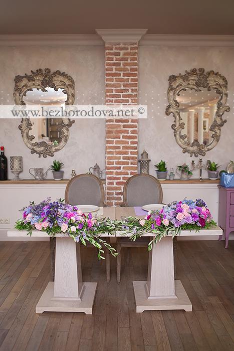 Свадебное оформление ресторана Вилладжио
