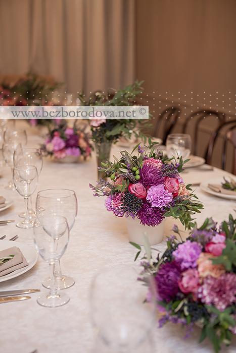 Оформление ресторана Террин в стиле прованс с использованием оливковых ветвей и лаванды