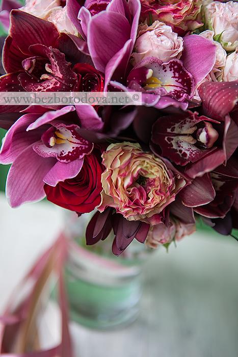 Букет красные орхидеями фото, букет для мужчин нижний новгород